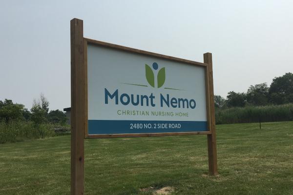 Mount Nemo Outdoor Sign